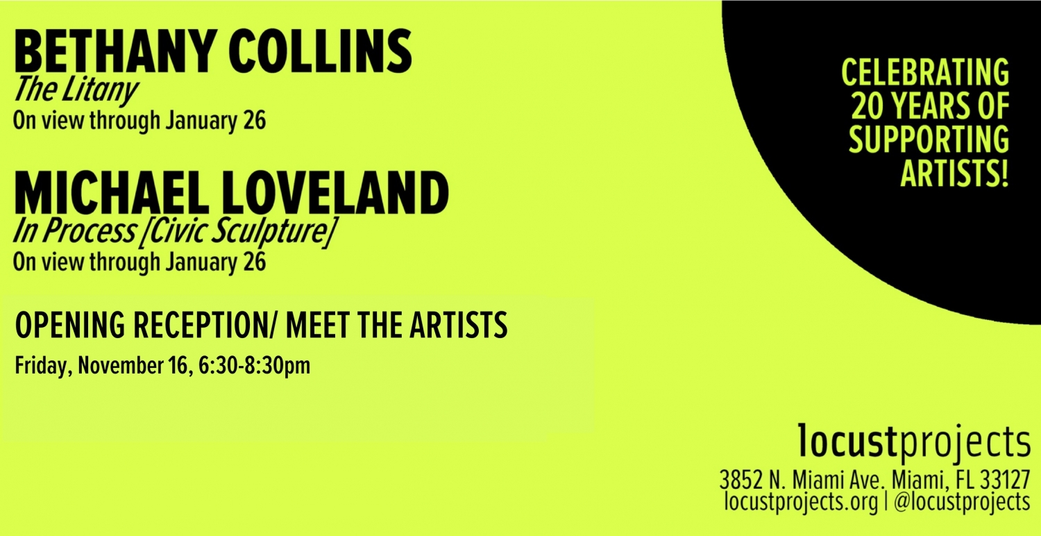 Meet the artists: Bethany Collins and Michael Loveland