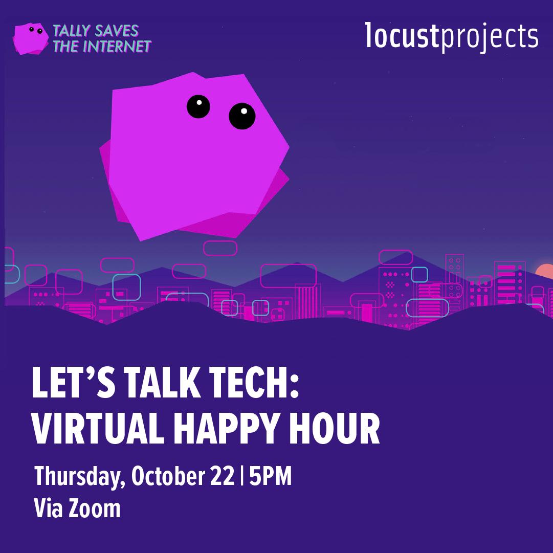 Let's Talk Tech: Virtual Happy Hour