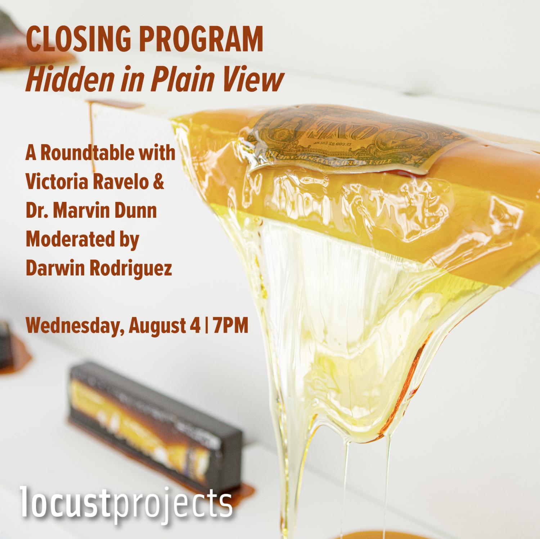 Closing Program: Hidden in Plain View