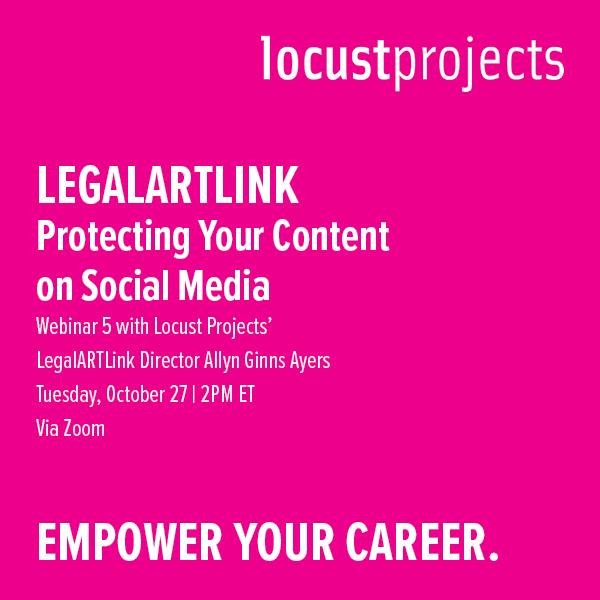LegalARTLink Webinar 5